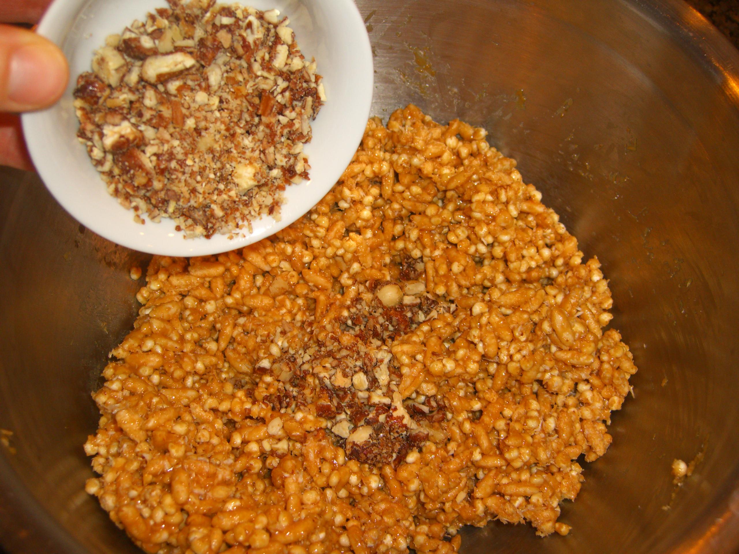Add Nuts & Mix