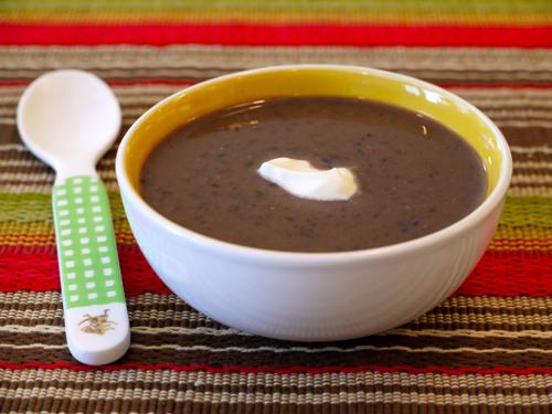 Crock Pot Black Bean Soup
