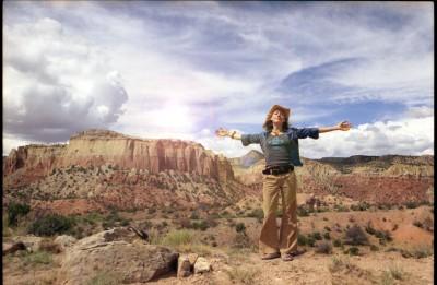 Kris in the Desert