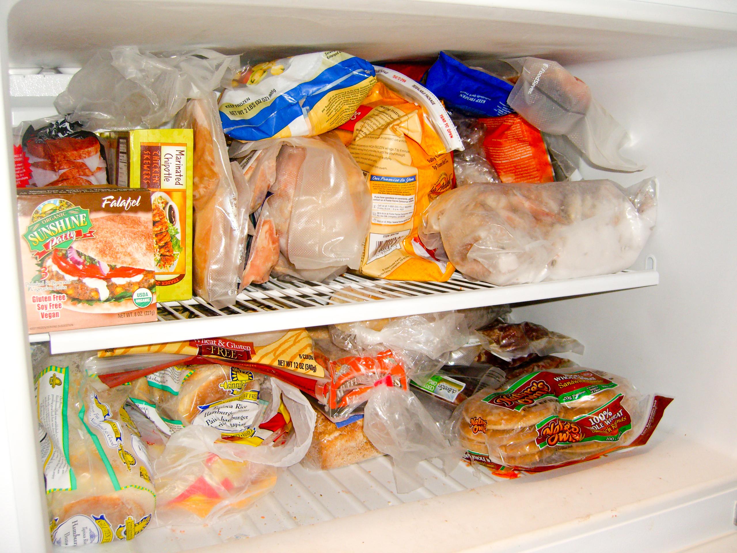 Garage Freezer AFTER