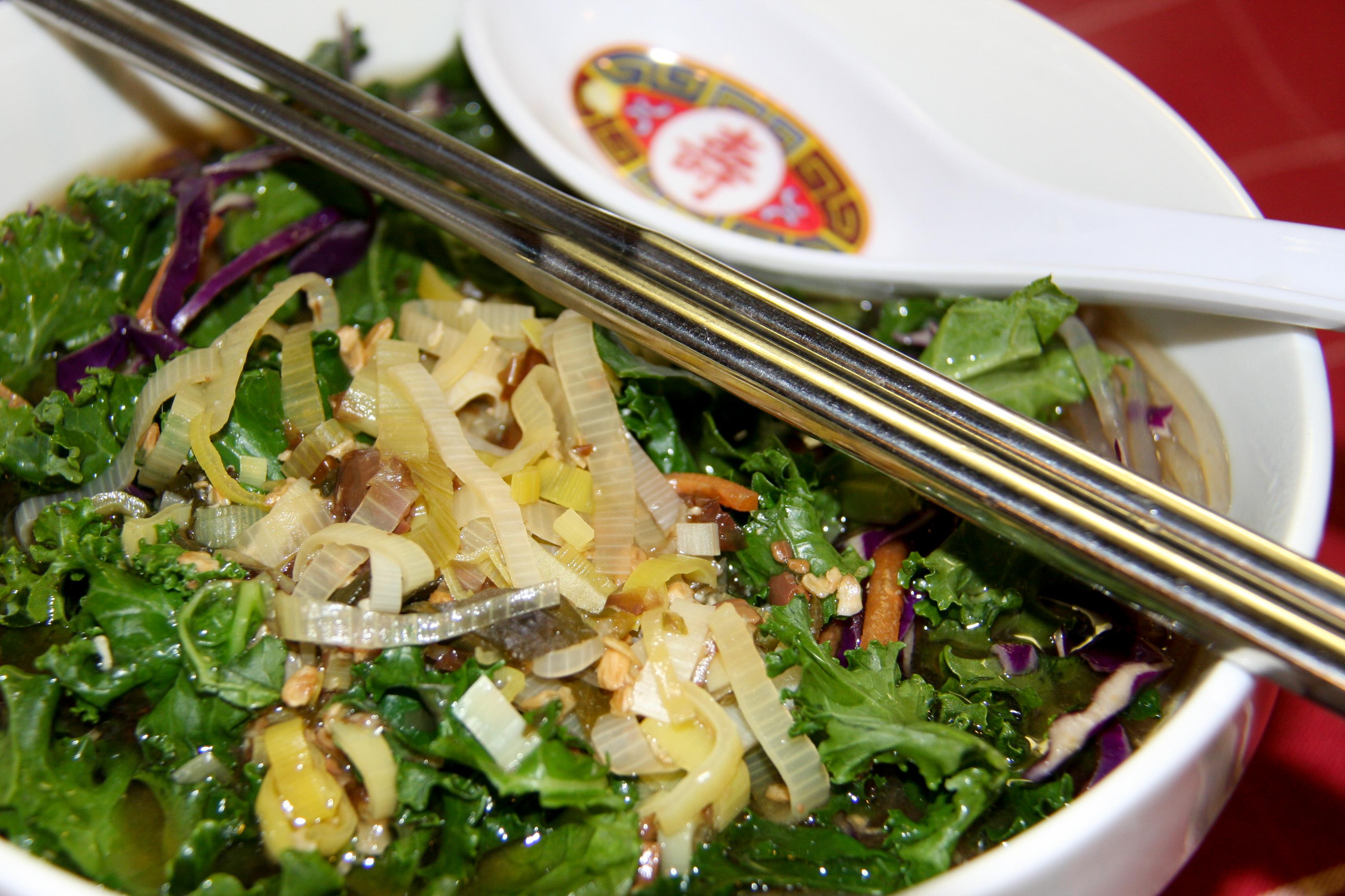 Mung Bean Noodle Soup