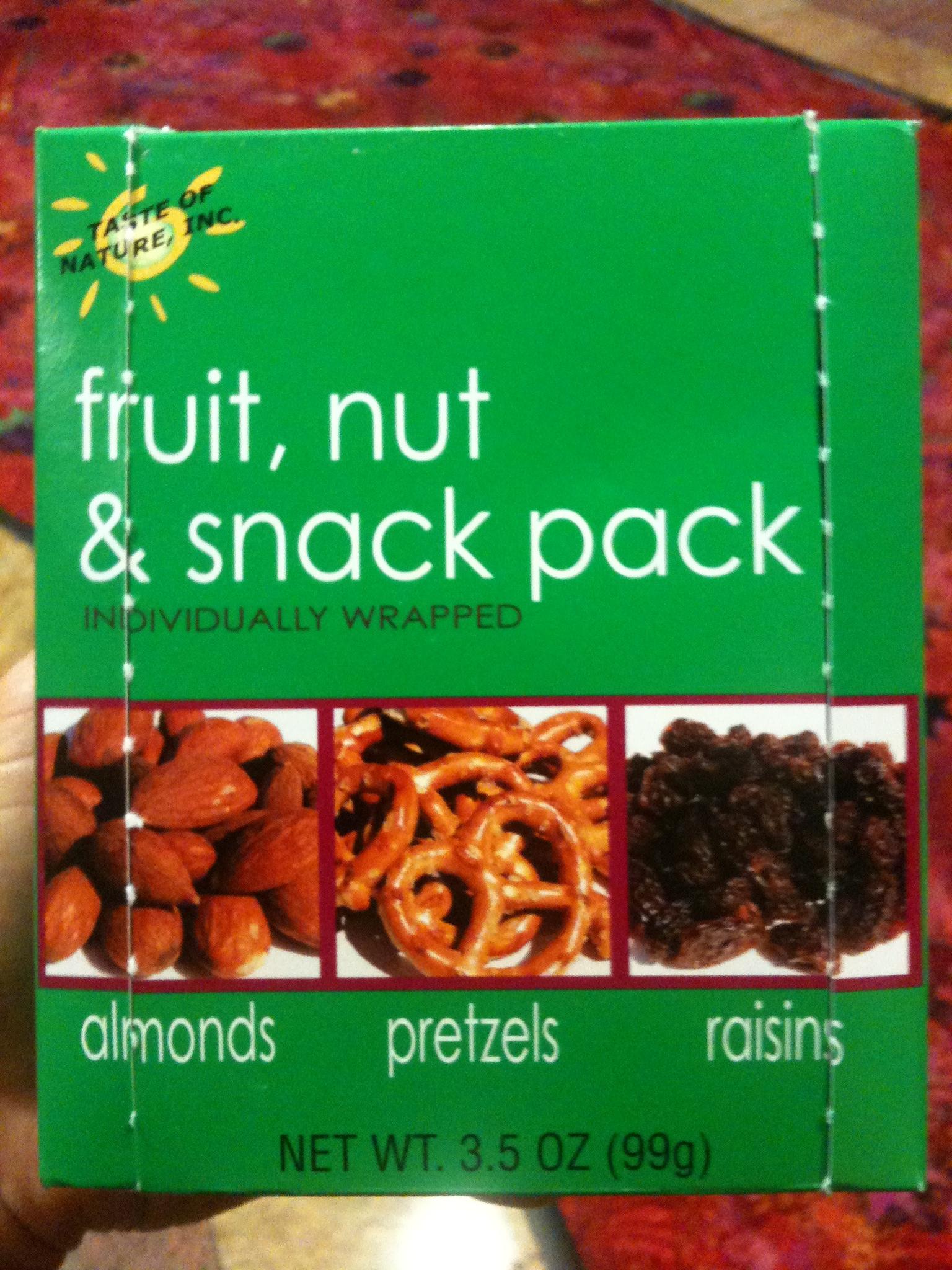 Movie Snack Pack