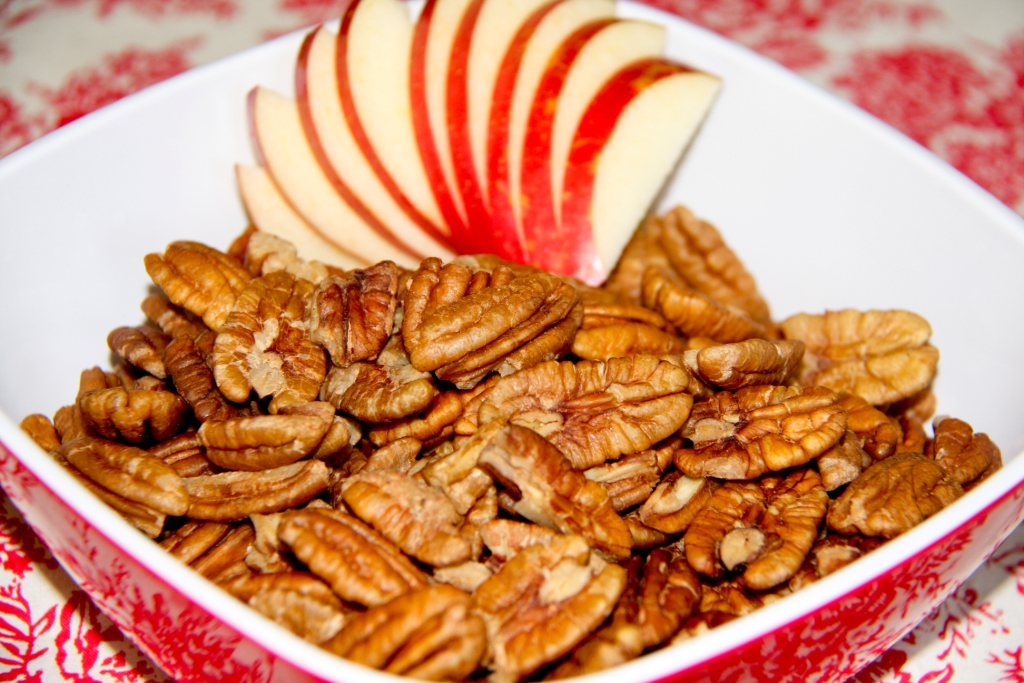 Apple Pie Infused Pecans