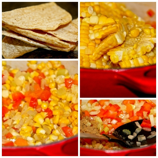 Collage 1 Baja Corn Chowder