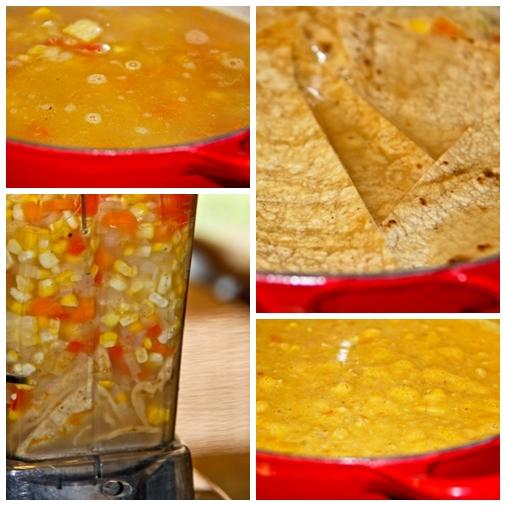 Collage 2 Baja Corn Chowder