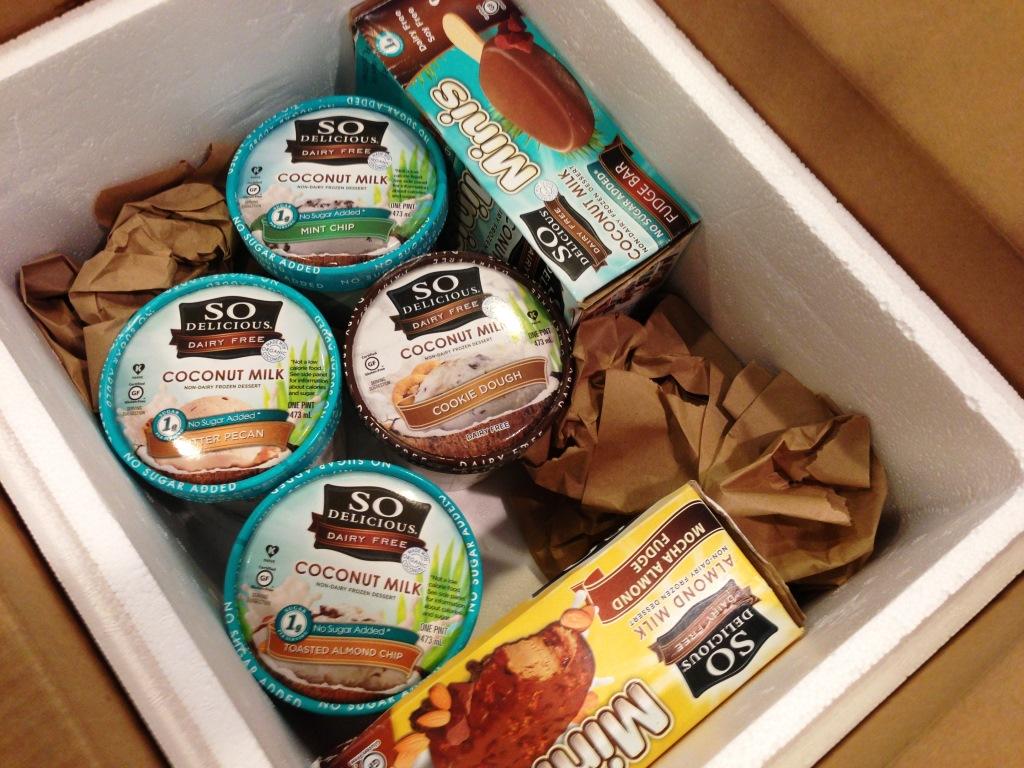 So Delicious Frozen treats compress