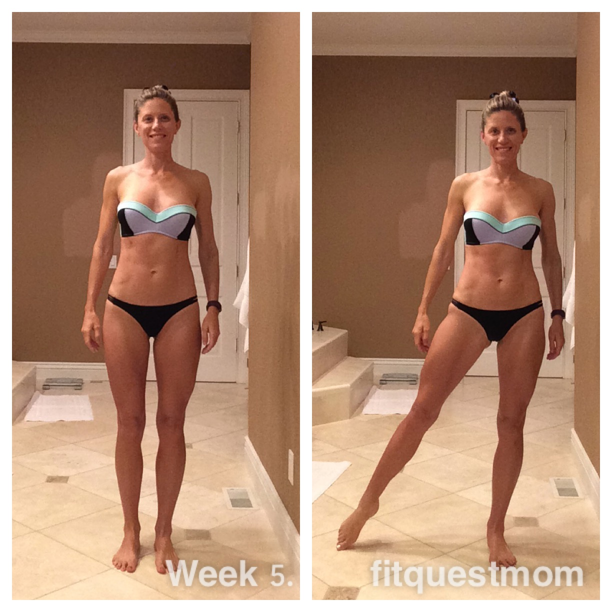 Day 36 FitQuestMom 8 weeks to 40 years old